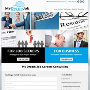 My Dream Job Careers Consulting