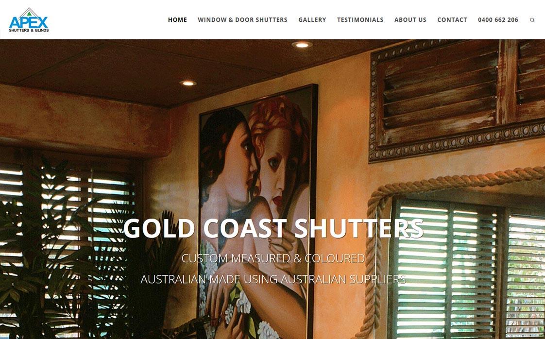 Apex Shutters Gold Coast & Brisbane