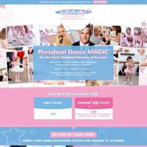 Preschool Dance MAGIC